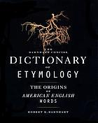 The Barnhart concise dictionary of etymology