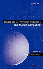 Handbook of wireless networks and mobile computing
