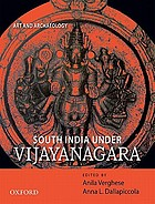 South India under Vijayanagara : art and archaeology