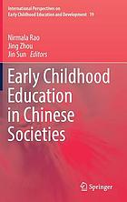 Early childhood education in Chinese societies.