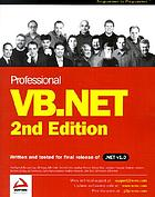 Professional Visual Basic.NET