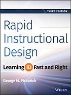 Rapid instructional design : learning ID fast and right