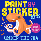 Paint by sticker kids - under the sea.