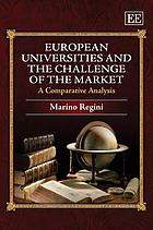 European universities and the challenge of the market : a comparative analysis