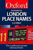 A dictionary of London place names