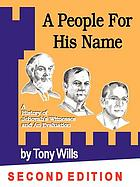 A people for His name : a history of Jehovah's Witnesses and an evaluation