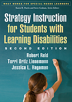 Strategy Instruction for Students with Learning Disabilities.