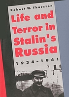 Life and terror in Stalin's Russia, 1934-1941