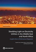 Shedding light on electricity utilities in the Middle East and North Africa : insights from a performance diagnostic