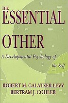 The essential other : a developmental psychology of the self