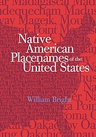 Native american placenames of the United States