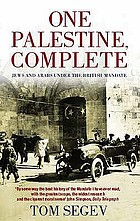 One Palestine, complete Jews and Arabs under the British mandate