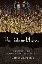 Particle or wave : the evolution of the concept of matter in modern physics