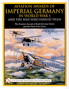 Aviation awards of imperial Germany in World War I