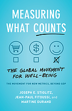 Measuring what counts : the global movement for well-being