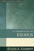A commentary on Exodus