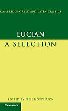 Lucian : a selection