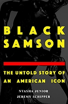 Book cover for Black Samson : the untold story of an American icon.