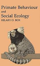 Primate behaviour and social ecology.