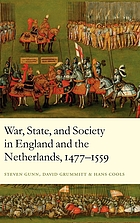 War, state, and society in England and the Netherlands : 1477-1559