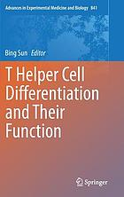 T helper cell differentiation and their function