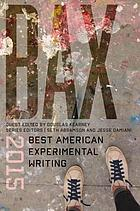 Bax : best American experimental writing. 2015
