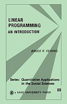 Linear programming : an introduction