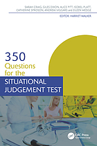 350 Questions for the Situational Judgment Test