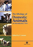 The ethology of domestic animals : an introductory text