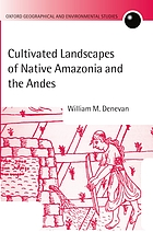 Cultivated landscapes of Native Amazonia