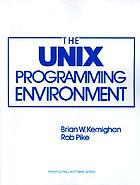 The UNIX programming environment
