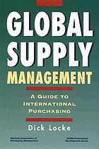 Global supply management : a guide to international purchasing