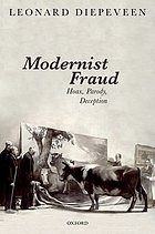 Modernist fraud : hoax, parody, deception