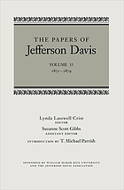 The Papers of Jefferson Davis : 1871-1879