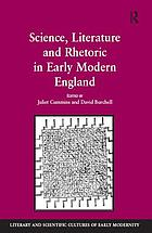 Science, literature, and rhetoric in early modern England
