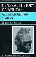 General history of Africa / Vol. 2: Ancient civilizations of Africa / ed.: G. Mokhtar.