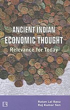 Ancient Indian economic thought : relevance for today