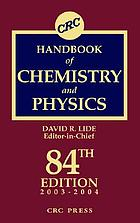 CRC handbook of chemistry and physics : a ready-reference book of chemical and physical data.
