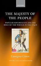 The majesty of the people : popular sovereignty and the role of the writer in the 1790s
