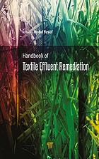 Handbook of Textile Effluent Remediation.