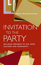 Invitation to the party building bridges to the arts, culture, and community