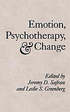 Emotion, psychotherapy, change