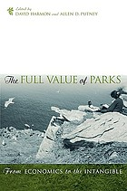 The full value of parks : from economics to the intangible