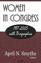 Women in Congress 1917-2005 with biographies