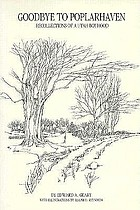 Goodbye to Poplarhaven : recollections of a Utah boyhood