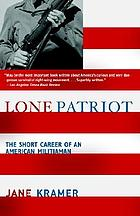 Lone patriot : the short career of an American militiaman