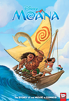 Moana : the story of the movie in comics