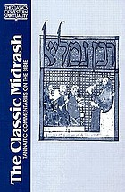The classic midrash : Tannaitic commentaries on the Bible