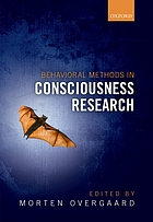 Behavioural methods in consciousness research