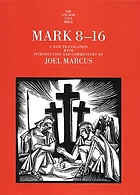 Mark 8-16 : a new translation with introduction and commentary